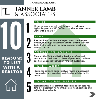 10 REASONS TO LIST WITH AREALTOR
